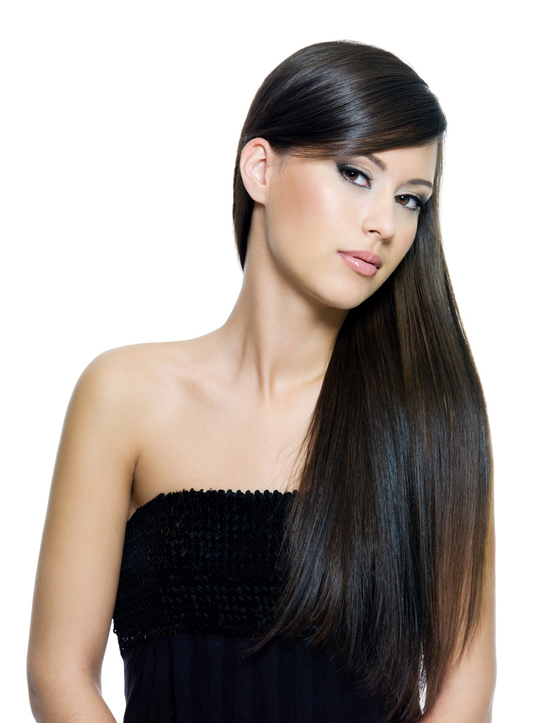 hair long straight brown woman hairstyles pelo cabello liso lipoic alpha helene beauty cuts skin ultimate acids protect largo cabellos